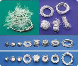 Diferentes tipos de espirais Metálicas (Figura 4)