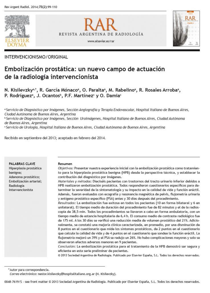 Procedimento Embolização Prostatica Aprovada Conselho Federal Medicina - 09